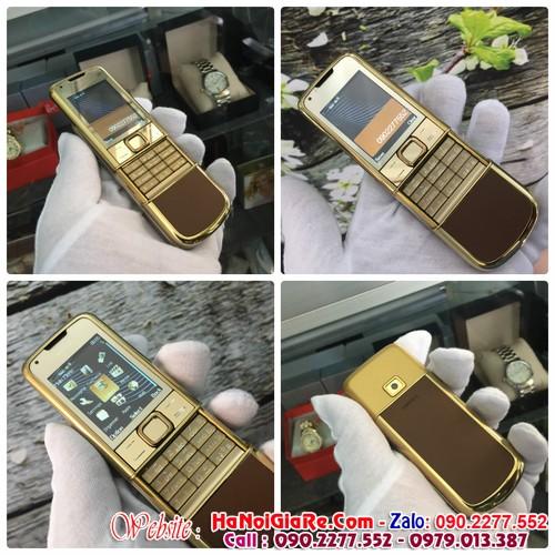 Nokia 8800 giá rẻ gold chỉ 2,5tr và địa chỉ bán điện thoại giá rẻ tại  đường dương đình nghệ hà nội